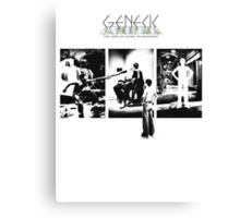 Genesis - The Lamb Lies Down on Broadway Canvas Print