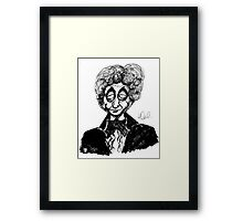 3rd Doctor Framed Print