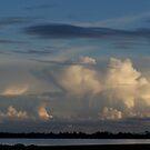 Thunderhead across Lake Sunday, Yorke Peninsula May 2007 by Craig Watson