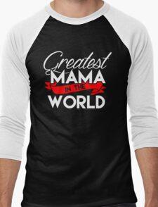 tribute to all moms Men's Baseball ¾ T-Shirt