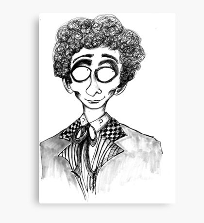 6th Doctor Canvas Print