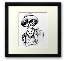 7th Doctor Framed Print