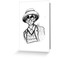 7th Doctor Greeting Card