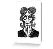 8th Doctor Greeting Card