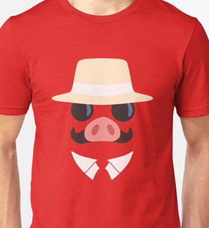 Minimal Porco Unisex T-Shirt