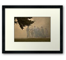 Cannon Haze Framed Print