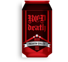 Beer - Red Death Canvas Print