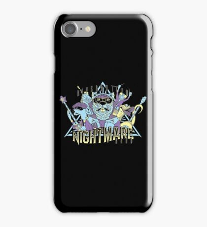 Riverbottom Nightmare Band iPhone Case/Skin