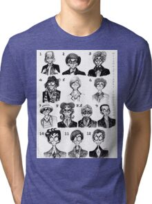 All of the Doctors Tri-blend T-Shirt