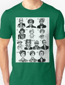 All of the Doctors T-Shirt