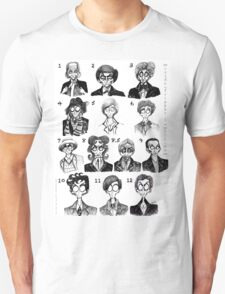 All of the Doctors Unisex T-Shirt