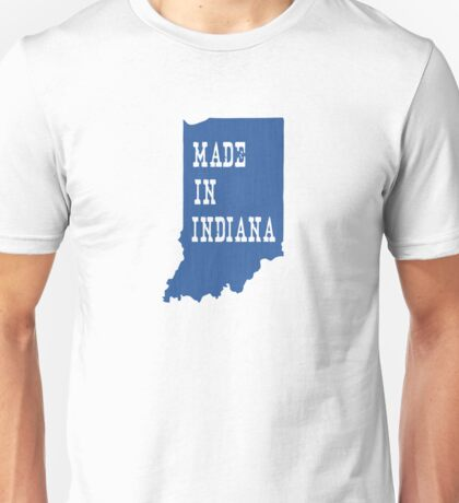 Made in Indiana Unisex T-Shirt