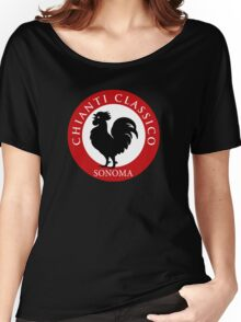 Black Rooster Sonoma Chianti Classico  Women's Relaxed Fit T-Shirt