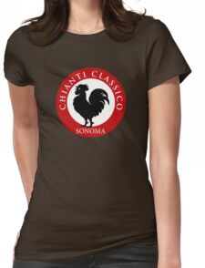 Black Rooster Sonoma Chianti Classico  Womens Fitted T-Shirt