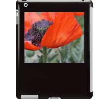 Poppy Petal iPad Case/Skin