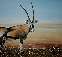 Gemsbok of the Kalahari by Cherie Roe Dirksen
