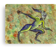 Puck the trickster spirit  Canvas Print