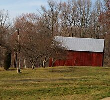The Red Barn by kimbarose