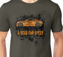 A NEED FOR SPEED(ORANGE) Unisex T-Shirt
