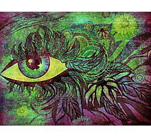 Surreal summer eye Photographic Print