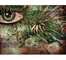Surreal summer eye 2 Photographic Print