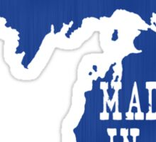 Made in Michigan Sticker
