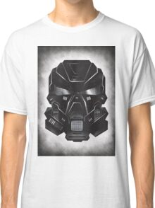 Black Metal Future Fighter on distressed background Classic T-Shirt