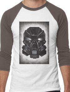 Black Metal Future Fighter on distressed background Men's Baseball ¾ T-Shirt