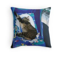 BEST SEAT IN THE HOUSE Throw Pillow
