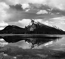 Passing Storm  Mt Rundle  Banff  CN by halnormank