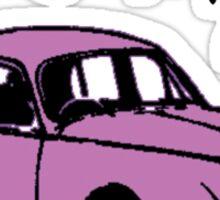 i luv my car...!! Sticker
