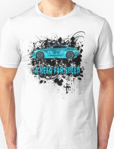 A NEED FOR SPEED(TURQUOISE) T-Shirt