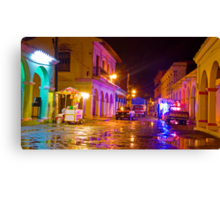 Tlacotalpan Night Canvas Print