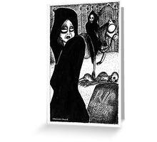 Death Greeting Card