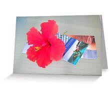 Carribean Color Greeting Card