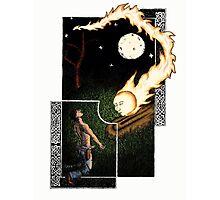 Falling Star Photographic Print