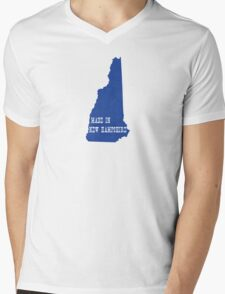 Made in New Hampshire Mens V-Neck T-Shirt