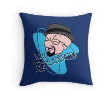 Mr. Heisenberg Throw Pillow