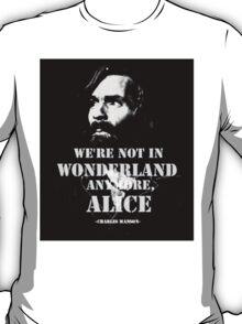 Charles Manson - Wonderland T-Shirt