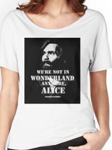 Charles Manson - Wonderland Women's Relaxed Fit T-Shirt
