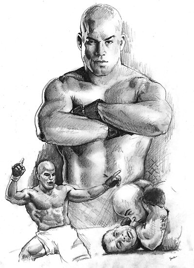 Tito Ortiz by Alleycatsgarden