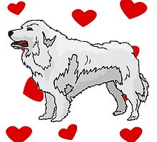 Great Pyrenees Love by kwg2200