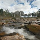 Falls of Dochart, Killin by Richard Ion