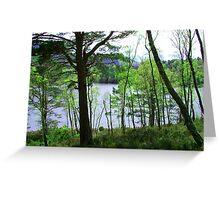 Loch an Eilean Greeting Card