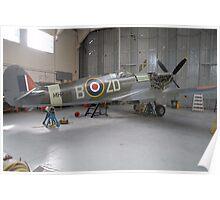 Supermarine Spitfire IX Poster