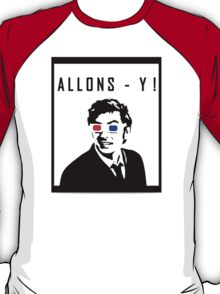 David Tennant Allons Y - Doctor Who Must Have T-Shirt