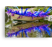 Splashes Of Color Canvas Print