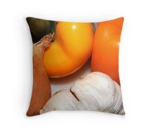 Preparing Throw Pillow