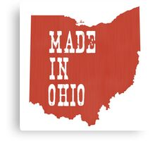 Made in Ohio Canvas Print