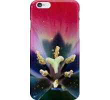 Anatomy of a Tulip: As Above, So Below iPhone Case/Skin